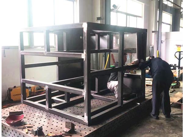 大型機架焊接加工