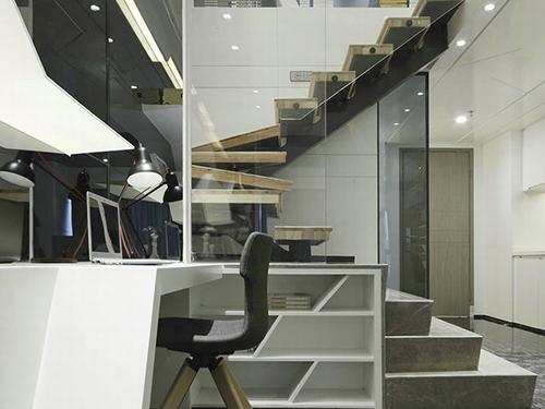 大岭山商贸办公室装修设计 崀山装饰 总经理 大型 公共 个性