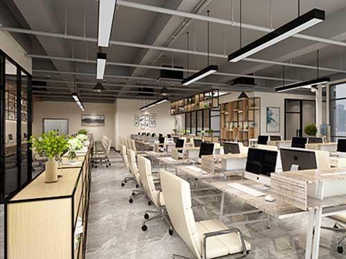 莞城商贸办公室装修设计 崀山装饰 老总 大型 现代 总经理 老板