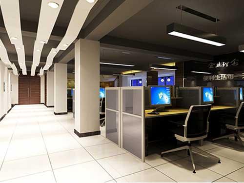 鹽田社區辦公室裝修翻新 崀山裝飾 小型 現代 公共 中式 個性