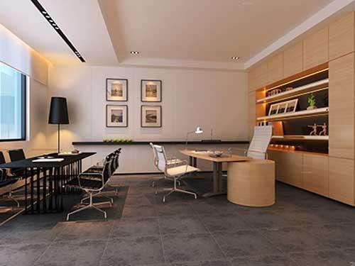 萬江社區辦公室裝修施工 崀山裝飾 公司 大型 多功能 總經理
