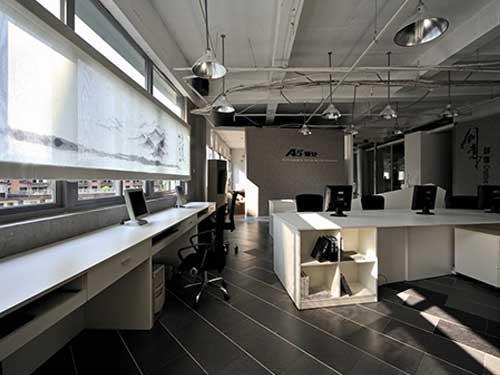 大型辦公室裝修效果圖 崀山裝飾 社區 現代 個性 小型 商貿