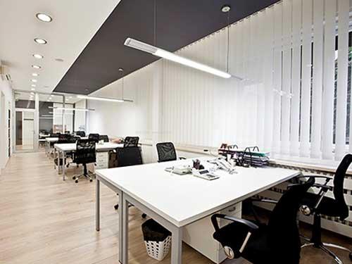 寮步辦公室裝修公司 崀山裝飾 公司 公共 中式 現代 老總