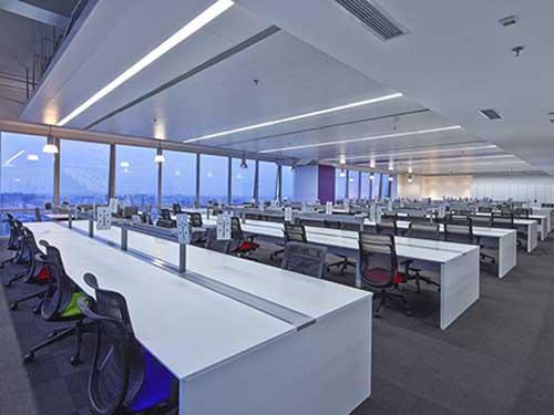 茶山多功能辦公室裝修 崀山裝飾 精益求精 有品質