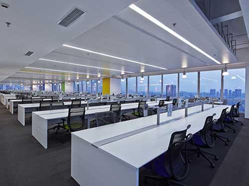 鹽田個性辦公室裝修 崀山裝飾 品質高 精益求精