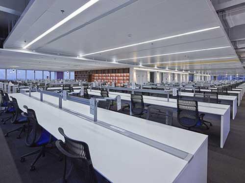 長安商貿辦公室裝修哪家好 崀山裝飾 總經理 老總 多功能 公司