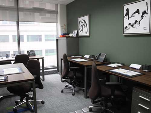 樟木头社区办公室装修图片 广东精业建设工程有限公司 老总 公司
