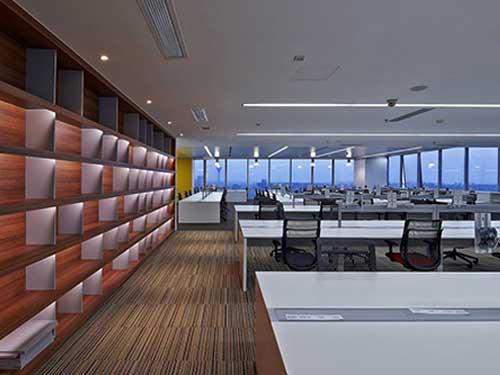 麻涌社區辦公室裝修多少錢一平 廣東精業建設工程有限公司