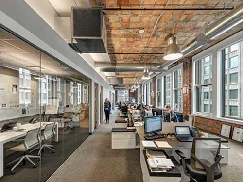 謝崗小型辦公室裝修 廣東精業建設工程有限公司 競爭力強 品質可靠