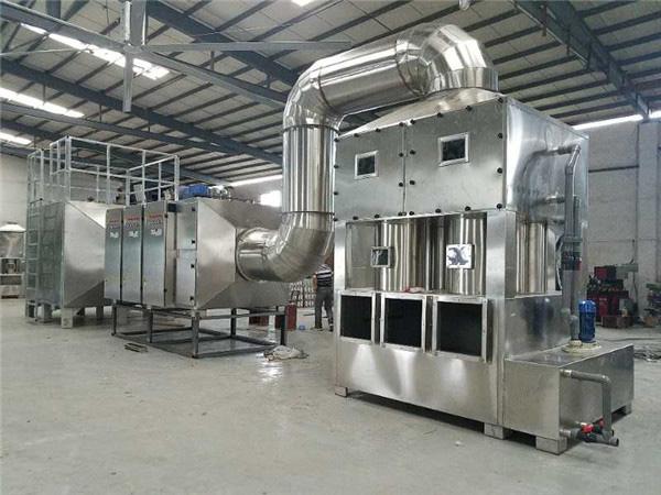噴淋柜+光氧催化+活性炭吸附裝置