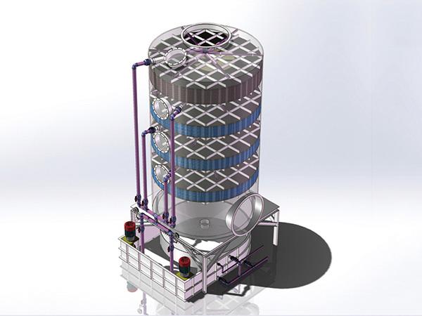 噴淋塔模型