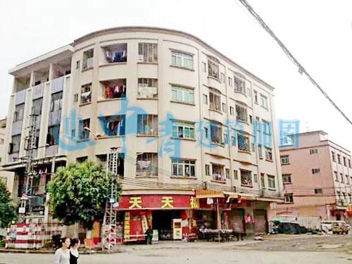 东莞厚街商住楼火灾后修复加固工程实例
