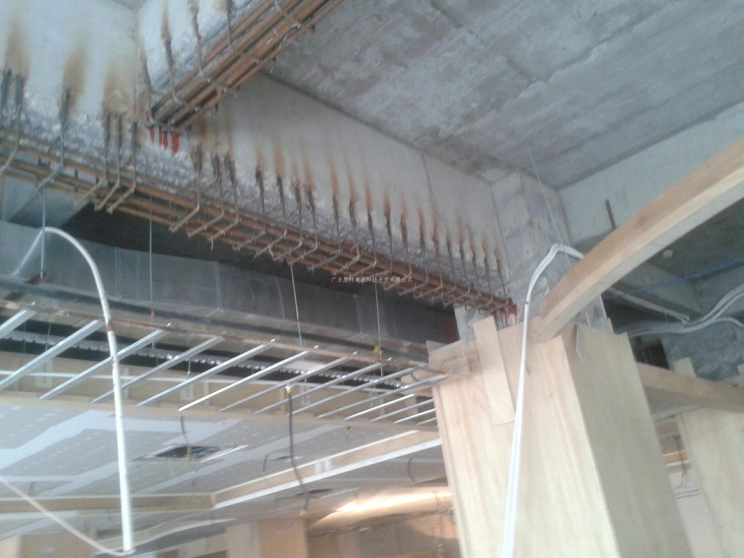 从而对原结构梁板柱造成影响,需采取加固补强措施,我司对不满足安全