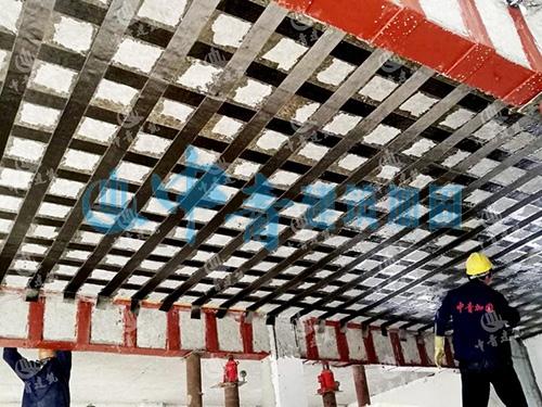 广州番禺水务办公楼结构加固补强工程