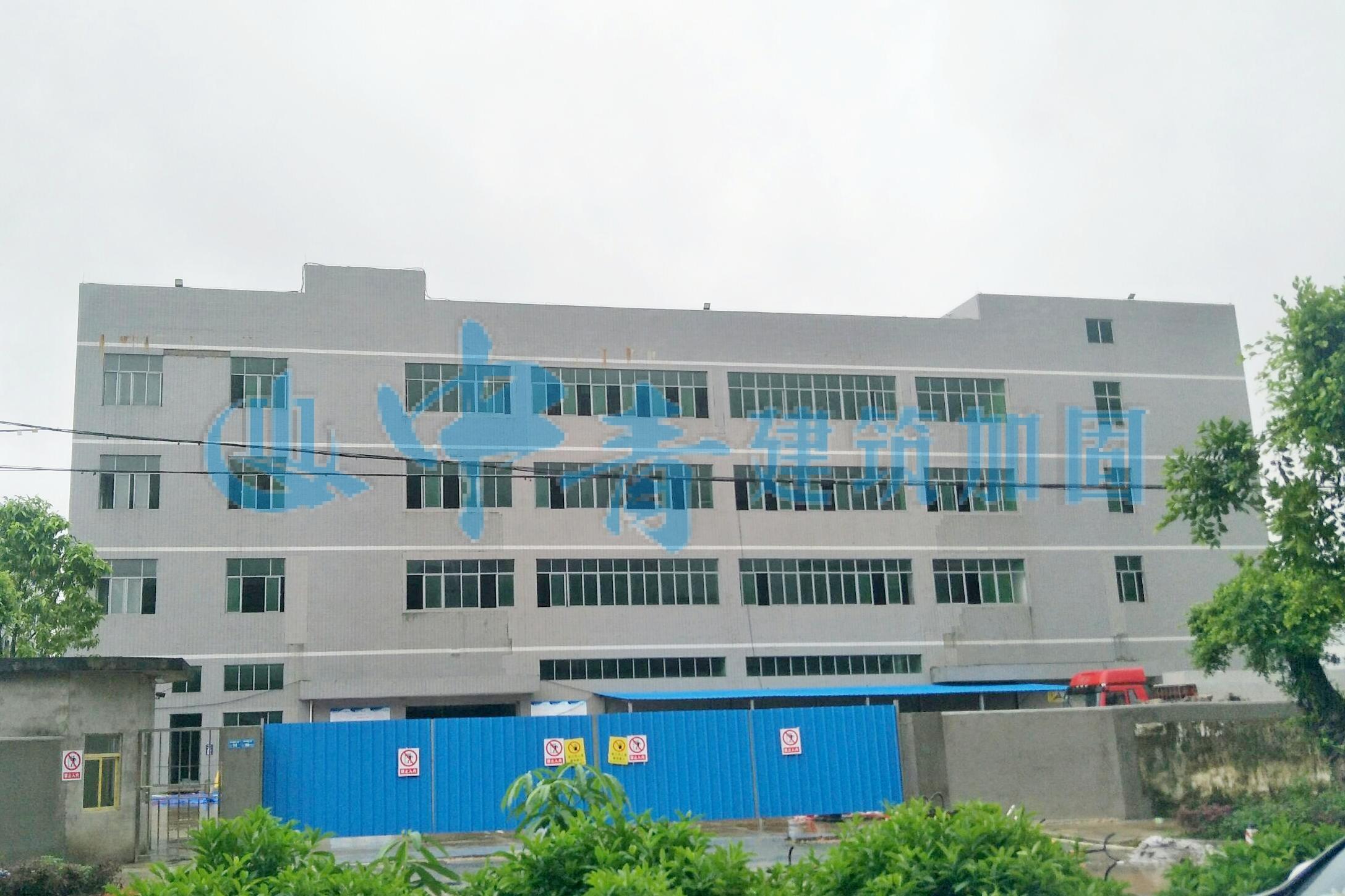 东莞华叶国际云数据中心扩容承重加固工程