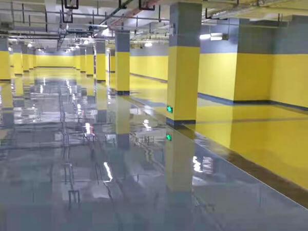 地下停车场环氧地坪漆