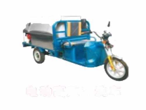 電動高壓沖洗車