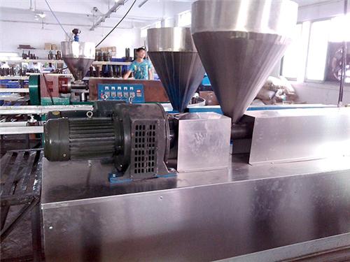 微型硅胶挤出机图片_琛城机械_小型_半自动_塑胶_单螺杆_橡胶