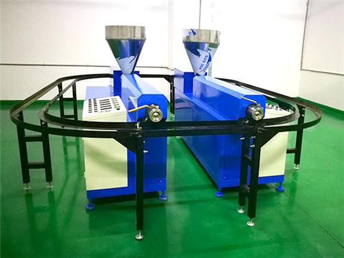双螺杆硅胶挤出机生产商_琛城机械_软胶_单螺杆_TPE_pvc