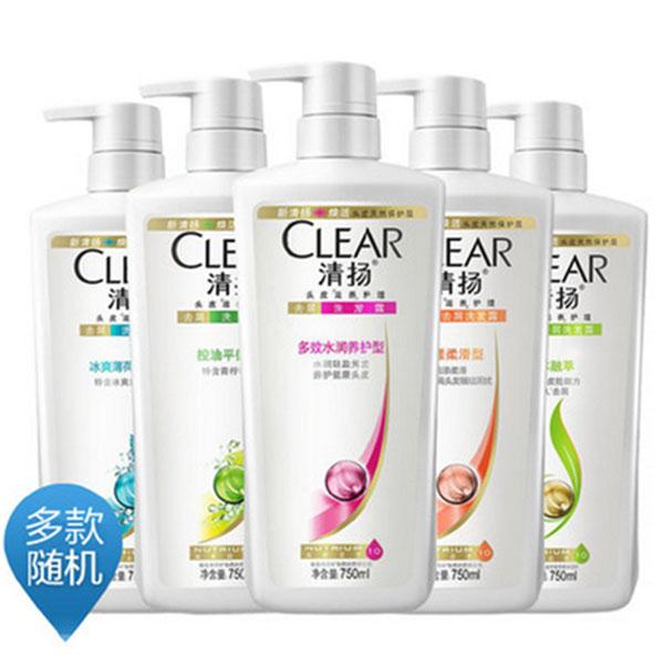 清扬洗发水
