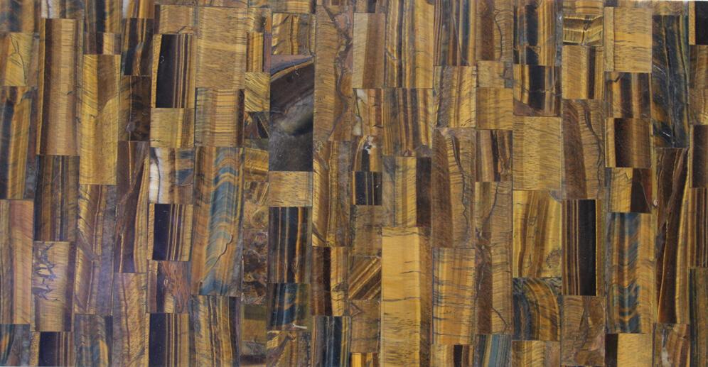 纯天然虎眼石装饰板KT01-001