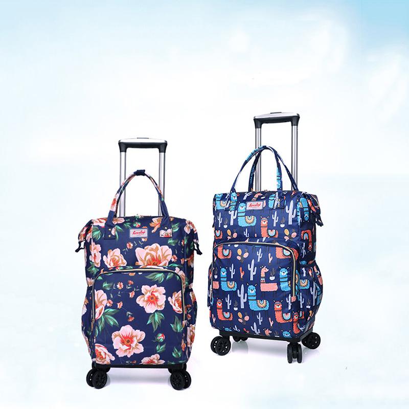 小型_省空间拉杆袋厂家生产销售_励欣箱包