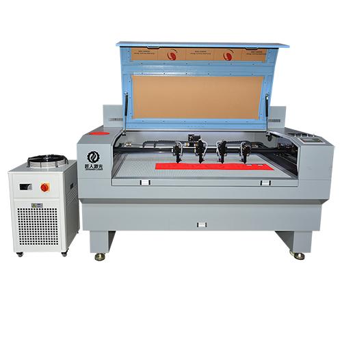JR-1480S四頭布料激光切割機