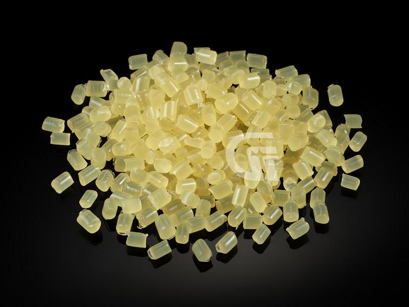 黄色透明热熔胶粒