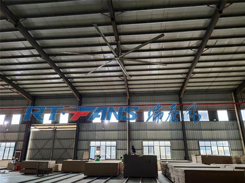 夏季厂房通风,厂房用工业吊扇