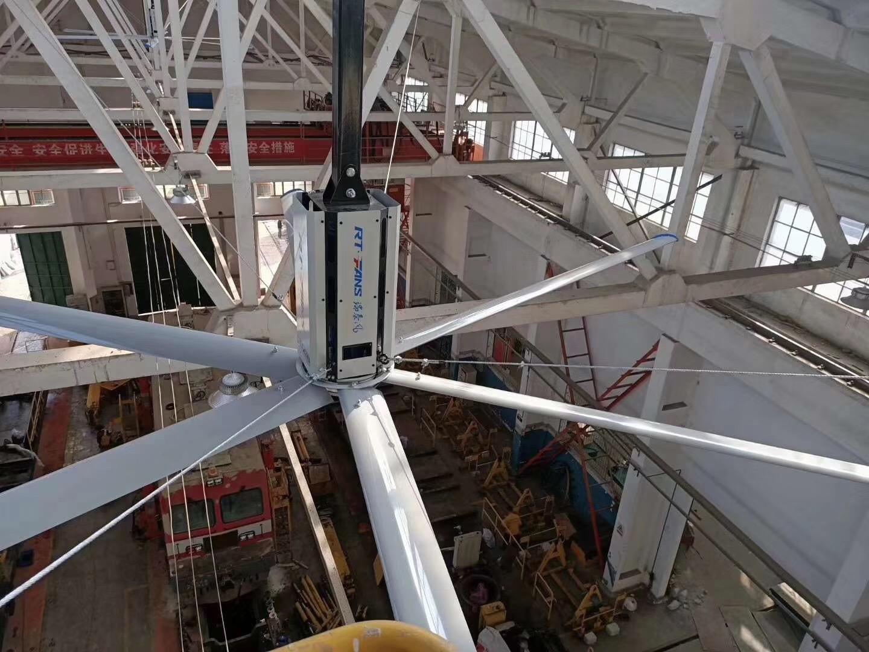 大型工业厂房风扇,大风量覆盖调节室内温度