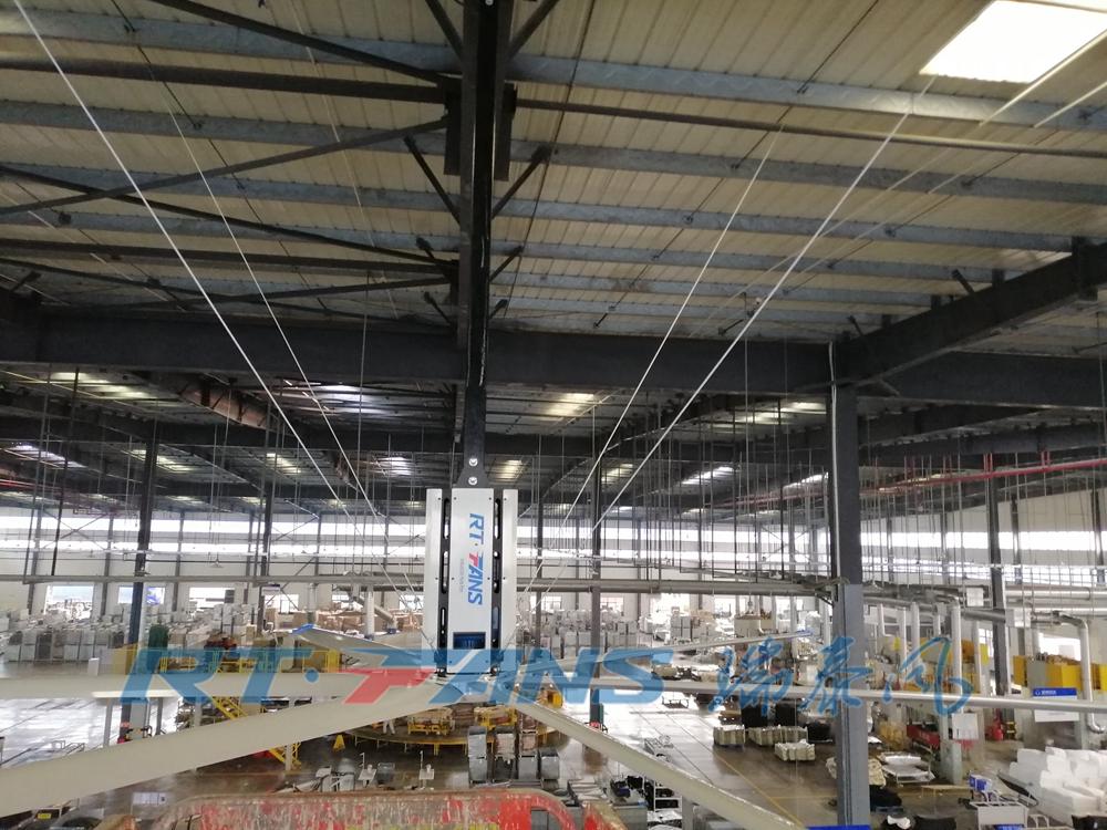大型車間工業風扇,促進通風高風量