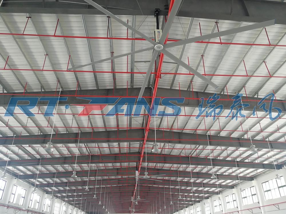 廠房用工業大風扇專業定制安裝簡單