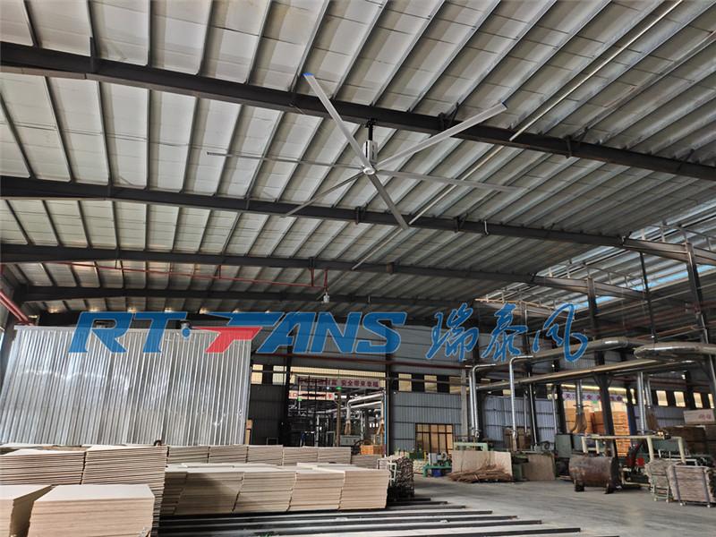 廠房用工業吊扇,促進車間環境空氣流通