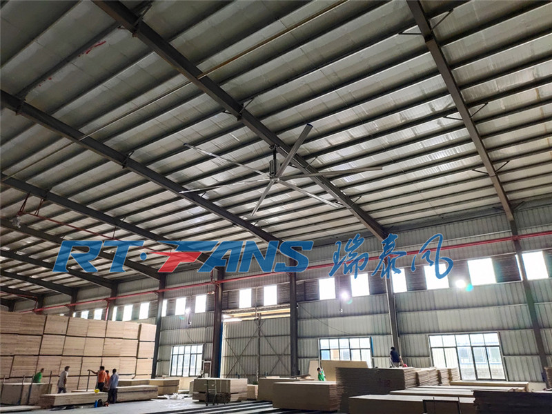 工業節能大吊扇,廣泛應用于工業廠房通風