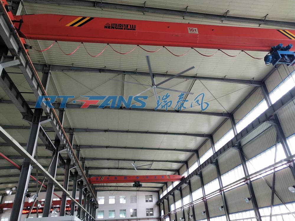 廠房工業吊扇,節能降溫促進空氣流動