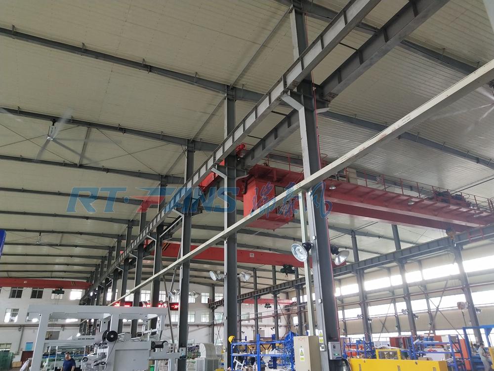 廠房用工業風扇,車間倉儲通風降溫耗能低