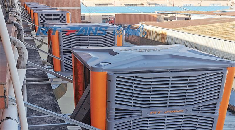 廠房降溫冷風機,車間崗位降溫設備