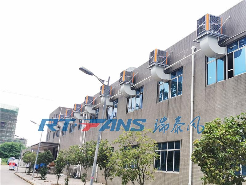 廠房快速通風降溫,設備降溫用工業冷風機
