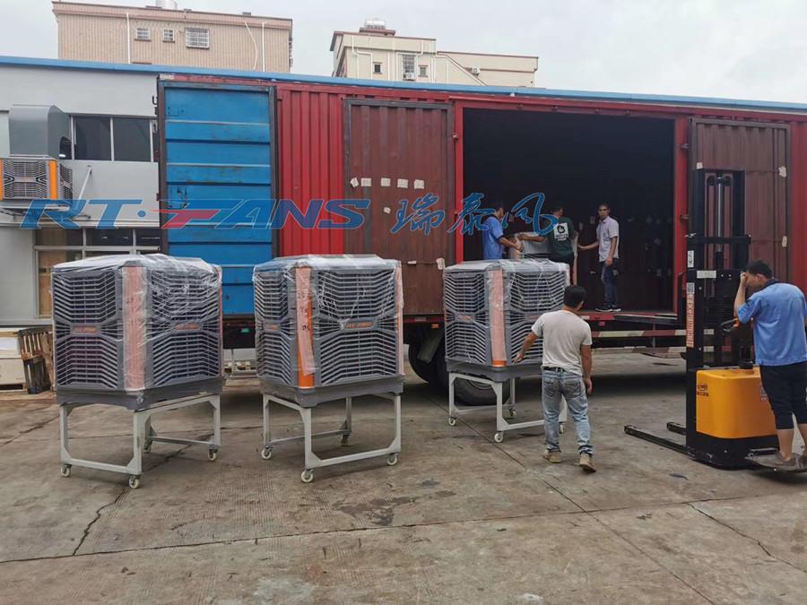 工廠水冷空調降溫,大面積車間工廠降溫設備