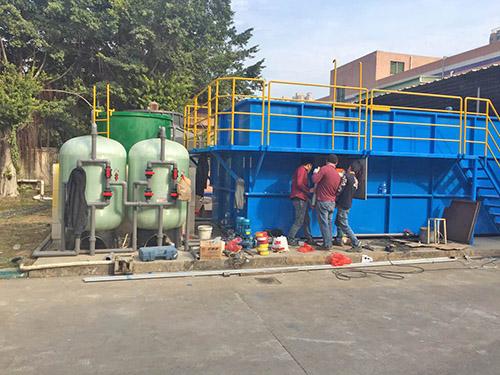 涂裝廢水處理設備安裝