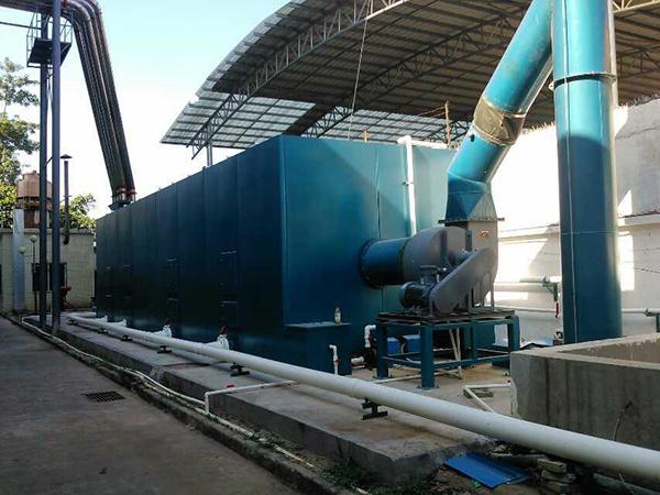 飼料廠廢氣除臭工程