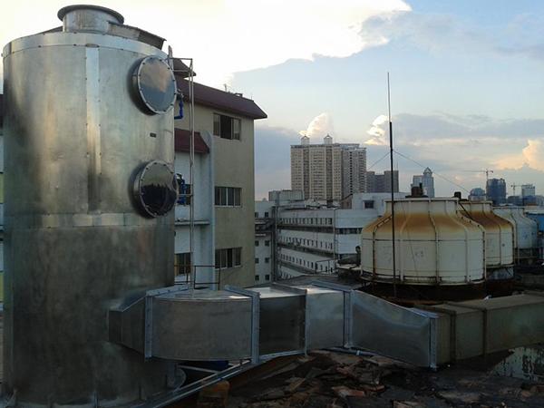 制藥廠廢氣除臭工程