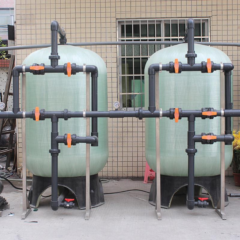 陆用_管道式海水淡化设备来样定制_纯科环保
