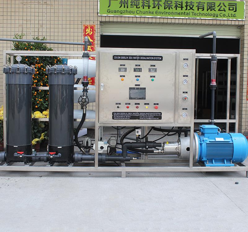 厢式海水淡化设备生产厂家_纯科环保_大型_小型_一体化_厢式