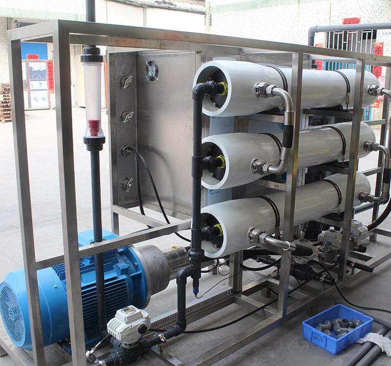 节能海水淡化设备现货供应_纯科环保_集装箱式_除盐_移动式