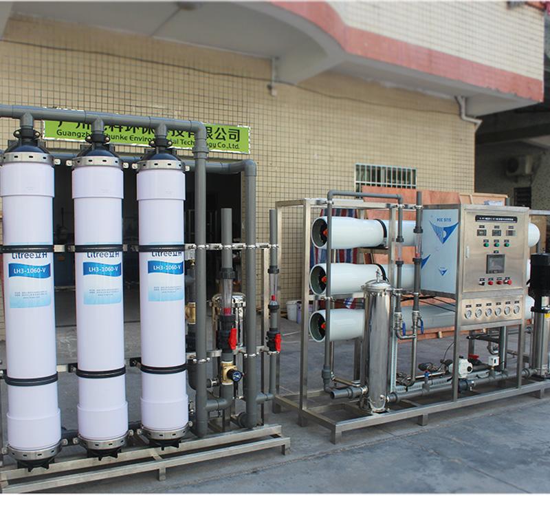 泉州專業中水回收設備_純科環保_過流式_去離子_地上式_成套
