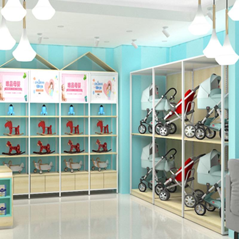 广州大唐展示母婴系列货架大全