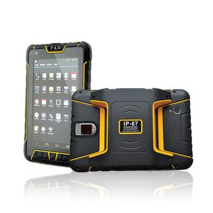 超高頻手持終端 安卓手持平板4G工業智能平板廠家直供