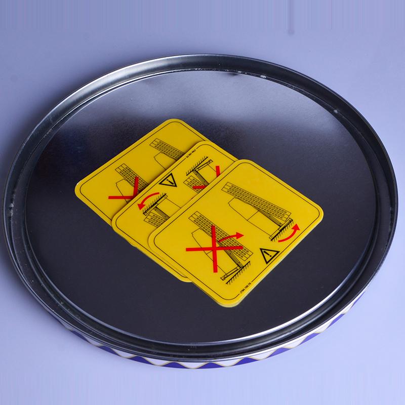 專色農機警示標廠家_立研田_貼紙_任何顏色_高品質_紅白條