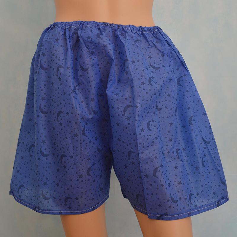 藍色桑拿褲